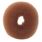 "Chignon Brown Medium Hair Donut ** 3¼"" X 1¼"""