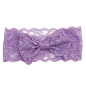 DZT1968(TM)Cute Infant Lace Big Bow Hair Band Baby Head Wrap Band Headband