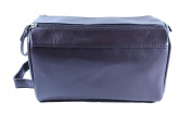 Guess Men's Brown Toiletry Travel Bag One Size Brown