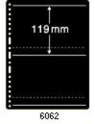 PRINZ stock pages 6062 Prinz-System 2 pockets each 119 mm height