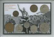 Wolverhampton Wanderers (The Wolves) Vintage FA Cup Final Winners Retro Coin Present Display Gift Set 1949