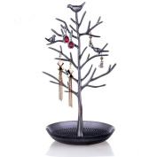Jewellery Organiser Birds Tree Jewellery Stand Display Earring Necklace Holder Jewellery Stand Rack Storage