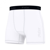 FDX Mens Compression Boxer Shorts Baselayers Sports Briefs skin fit gym pants