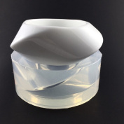 Alamould Moulds Clear Silicone Mould for Curvy Pointed Bangle Bracelet