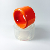 Alamould Moulds Clear Silicone Mould for Wide Chunky Bangle Bracelet