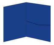 A7 Posh Pocket - Colours Matt Royal Blue, 25 pack