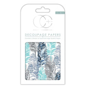 Craft Consortium Decoupage Printed Paper Pack of 3 - CP219 Raven
