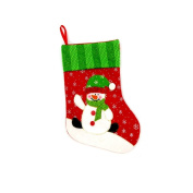 ACVIP 1 PC Christmas Cute Sock Package Storage Candy Bag