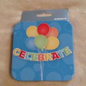 Gift Card Box- Celebrate with Balloon Design
