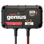 NOCO Genius GENM1 4-Amp 1-Bank Onboard Battery Charger