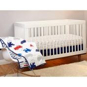 Pinwheel On the Go 3-Piece Crib Bedding Set