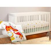 Pinwheel Step Right Up 3-Piece Crib Bedding Set