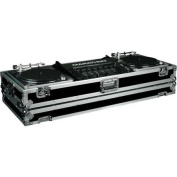 Marathon Ma-dj19wb Ma-dj19w Battle Holds 2 Turntables In Battle Style Position With 19 Mixer With Wheel