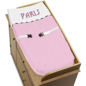Sweet Jojo Designs Paris Collection Changing Pad Cover