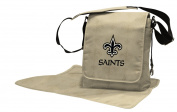 Lil Fan Nappy Messenger Bag, NFL New Orleans Saints