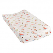 Trend Lab Forest Gnomes Deluxe Flannel Changing Pad Cover
