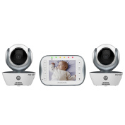Motorola WiFi 8.9cm  Video Monitor with 2 Cameras - MBP843CONNECT-2