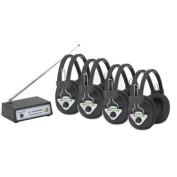 Buhl Wireless Listening Centre with 4 Station