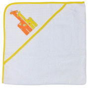 Happy Chic Baby By Jonathan Alder Applique Hooded Towel - Giraffe