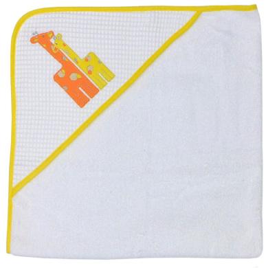 Happy Chic Baby By Jonathan Alder Applique Hooded Towel - Giraffe