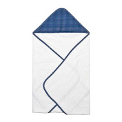 Trend Lab Perfectly Navy Dot Hooded Towel Bouquet