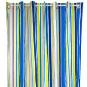 Pam Grace Creations Rockstar Cotton Shower Curtain