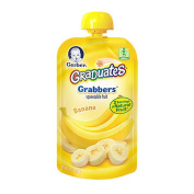 Gerber Graduates Grabbers Squeezable Fruit Banana Pouch - 130ml