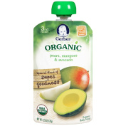 3RD FOODS OR Pear Mango Avocado Pouch