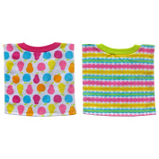 Bibsters Girl 2 Pack Fruit Pullover Bib Set