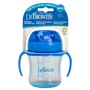 Dr  Brown's BPA Free 180ml Soft Spout Training Cup - Girl