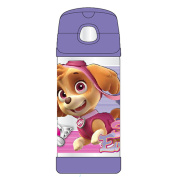 Thermos Stainless Steel Paw Patrol Girl FUNtainer Straw Bottle - 12 Punce