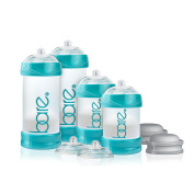 Bare Air-free Starter Set Baby Bottle with Perfe-latch Nipple