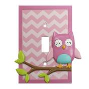 Koala Baby Owl Switch Plate Cover
