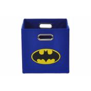 Batman Logo Blue Folding Storage Bin