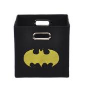 Batman Shield Black Folding Storage Bin