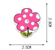 Set of 40 Baby Sweater Buttons Cartoon Decorative Buttons Flower B