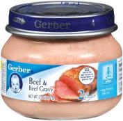 Gerber 2nd Foods, Beef and Gravy, 70ml Jars
