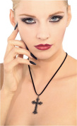 Rubie's Costume Blood Line Collection Gothic Cross Necklace