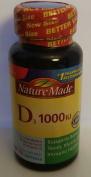 Nature Made Vitamin D3 Dietary Supplement Softgels, 1000 I.U., 110 count