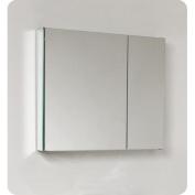Fresca 80cm x 70cm Surface Mount or Recessed Medicine Cabinet