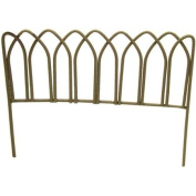 Timeless Miniatures-Painted Metal Rusty Fence