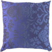60cm Violet Purple and Berry Blue Royalty Delight Decorative Throw Pillow - Down Filler