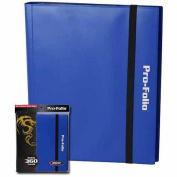 BCW Pro-Folio 9-Pocket Card Protector, Blue