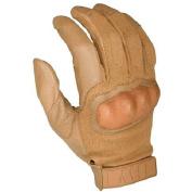 HWI Gear HKTG300G Hard Knuckle Tactical Goatskin Glove, Coyote