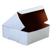 SCT Bakery Boxes, White, Paperboard, 14 x 14 x 5, 50/Carton