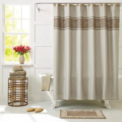 Better Homes and Gardens Greek Key Shower Curtain