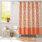 Better Homes and Gardens Coral Triangle Shower Curtain