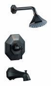 Design House 525592 Tub and Shower Barcelona Faucet Single Handle ;Brushed Bronze