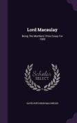 Lord Macaulay
