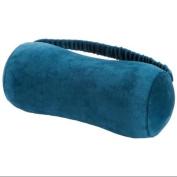 Miles Kimball Navy Blue Memory Foam Peanut Neck Pillow